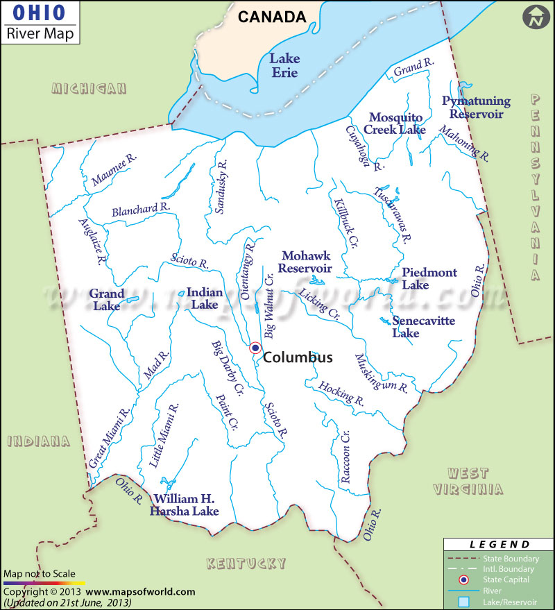 Ohio River Map Williamson County Libertarian Party - Ohio on map